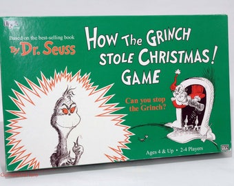 How the Grinch Stole Christmas Game from University Games 1997 COMPLETE (read description)
