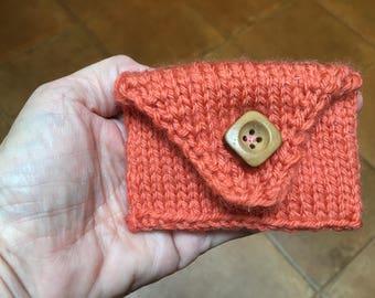 Handknit Card Case