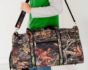 Personalized Camo Duffel Bag Monogrammed Camouflage Duffle Bag