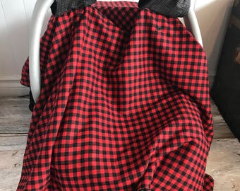 Baby Car seat cover, car seat blanket,
