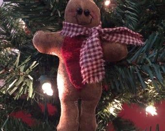 Gingerbread Doll Ornie