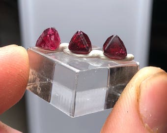 Spinel Macle Crystal Twin Parcel Mogok Burma MS0052