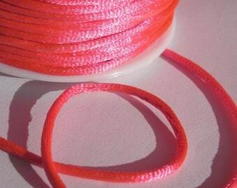 1 meter wire knotting color fuchsia 2 mm thick (14)-