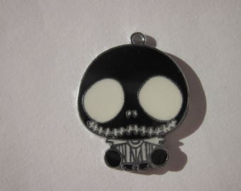 Ghost metal colored 3 cm (G47) shaped charm