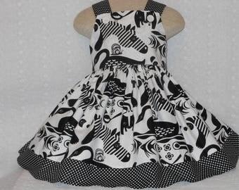Zebra, Animal Dress, Wild Animal Dress, Custom Boutique, Birthday, Pageant, Dress, Handmade Minnie Mouse Dress, Birthday, Unique Zebra dress