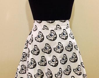Portal Game Inspired Nerd Geek Skirt