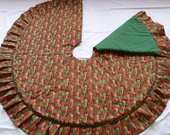 Presents Christmas Tree Skirt