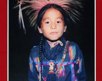 Child's Native American Indian Ribbon Shirt - Boy's sizes S-XL Missouri River Sewing Pattern # 201