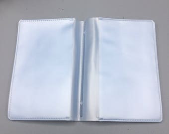 Clear Wallet Card Insert (Fits SweetBabyJot Micro)