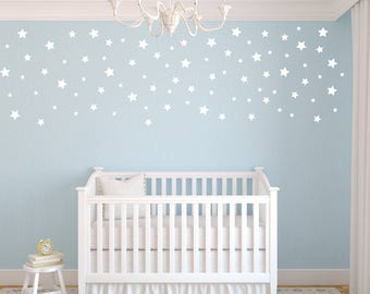 Peel And Stick Decals Stars, Star Wall Decals, Nursery Wall Decals,  Confetti Star Part 60