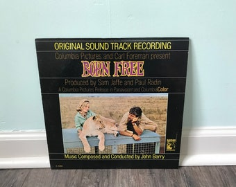 Born Free Original soundtrack vinyl record