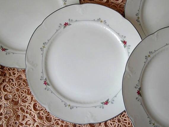 kuchenteller collier villeroy boch bone china porzellan. Black Bedroom Furniture Sets. Home Design Ideas