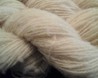 Handspun British Hampshire Down rare breed yarn 100g