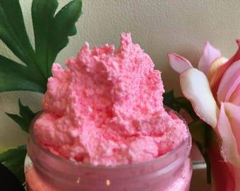 CRANBERRY FIG- Dead Sea Salt Body SCRUB- Handmade by Spa Uptown, vegan ,8 fl oz