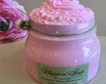Rose Patchouli- SPA Whipped Soap In A Jar
