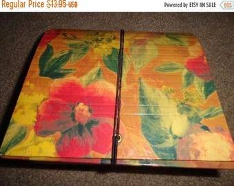 50% OFF Vintage accordian organizer coupons recipes addresses floral look