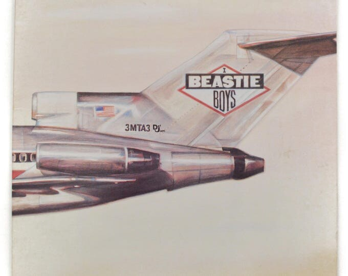Vintage 80s Beastie Boys Licensed to Ill Classic Rap Gatefold Album Record Vinyl LP