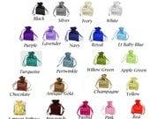 """4 """"x 6"""" SATIN Farbe wählen benutzerdefinierte Liste - Tunnelzug Taschen Geschenk gefallen Partei, Braut rot blau grün lila weiß schwarz Gold Marine Immergrün rosa"""