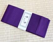 Dark purple mens obi belt...