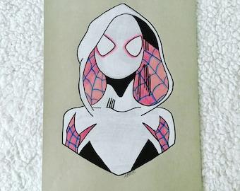Original Spider Gwen Portrait
