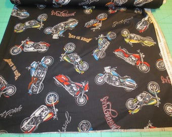 Motorcycle fabric