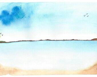 Beach dreams, 7x10'