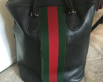 Vintage Gucci travel bag James Bond