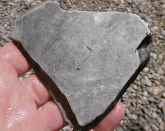 Silver Sheen Obsidian Slab  (70X60X7)
