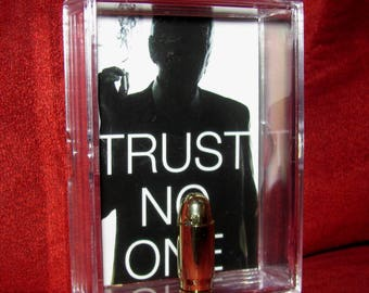 "The X-Files ""The Smoking Man"" Trust no One inspired by slim display 2..."