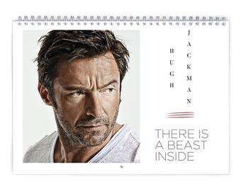 Hugh Jackman Vol.1 - 2018 Calendar