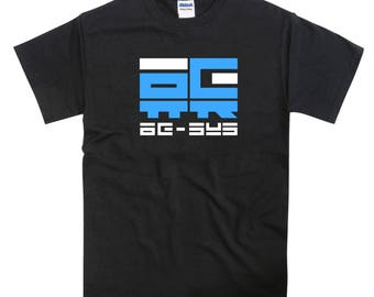 Wipeout Racing League inspired AG Systems Tshirt