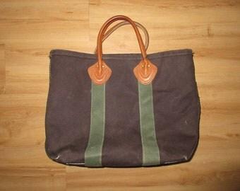 Vintage L.L. Bean Boat and Tote  bag