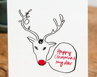 Happy Christmas My Deer