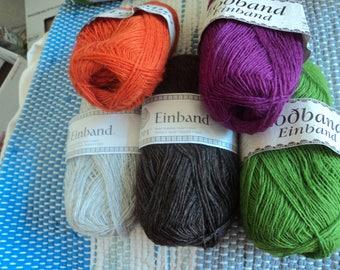 5 Colors Einband Lopi 100% Icelandic Wool Yarn 50g (1.7 oz) 2.50m (273 yds.)