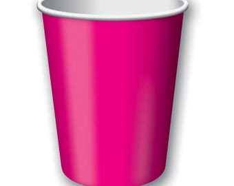 24 Paper Cups 9oz hot / cold uses