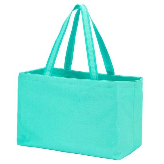 Mint Ultimate tote bag navy blue oversized bag monogrammed tote bag beach bag pool bag summer bag monogrammed gift