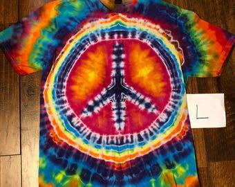 Large tie-dye tee #211