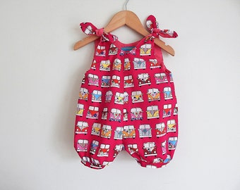 VW Campervan Bus Romper Suit - Girls/Toddler/Baby sizes 0-6 yrs - Made to order