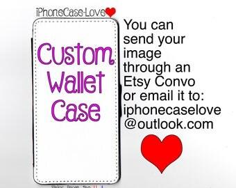 Custom iPhone 7 Plus Case - Custom iPhone 7 Plus Wallet Case - Custom iphone 7 Plus - Custom iPhone 7 Plus Wallet