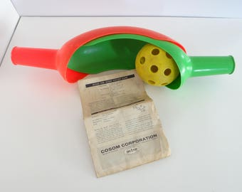 Cosom Scoop Game with Instruction Booklet Vintage USA