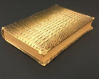 Ca. 1900 Robert Burns Poetry Book