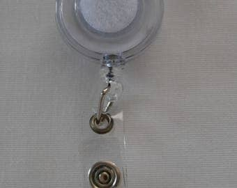 Reel badge holder