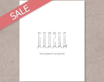 University of Missouri Columns Print (Sale)