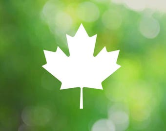 Canadian Maple Leaf Car Decals