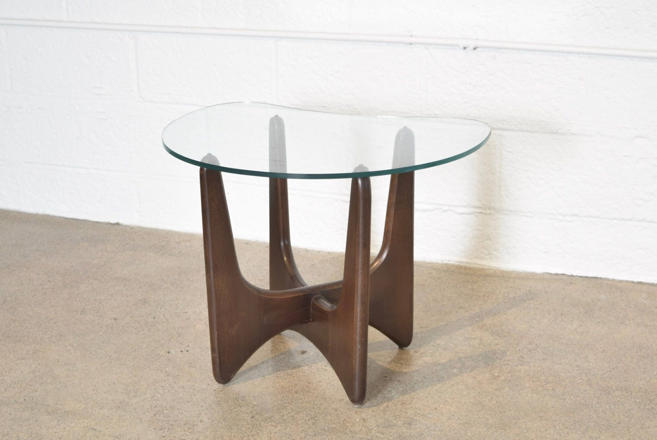 mid century side table modern end table beautiful adrian