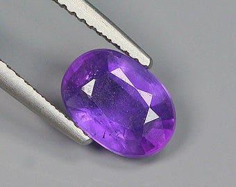 1.50 Ct Natural Brazil Purple AMETHYST