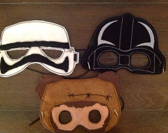 star wars masks,Dress up, Kids Costumes
