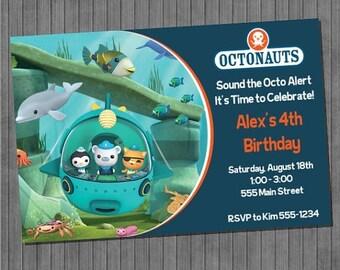 ON SALE Octonauts Party Invitation