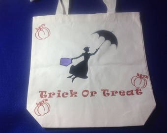 Mary poppins trick or treat bag!