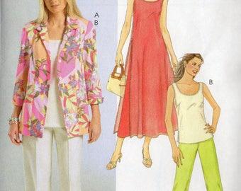 McCall's Shirt JACKET Top DRESS & PANTS Pattern 4846 Misses 14 16 18 20